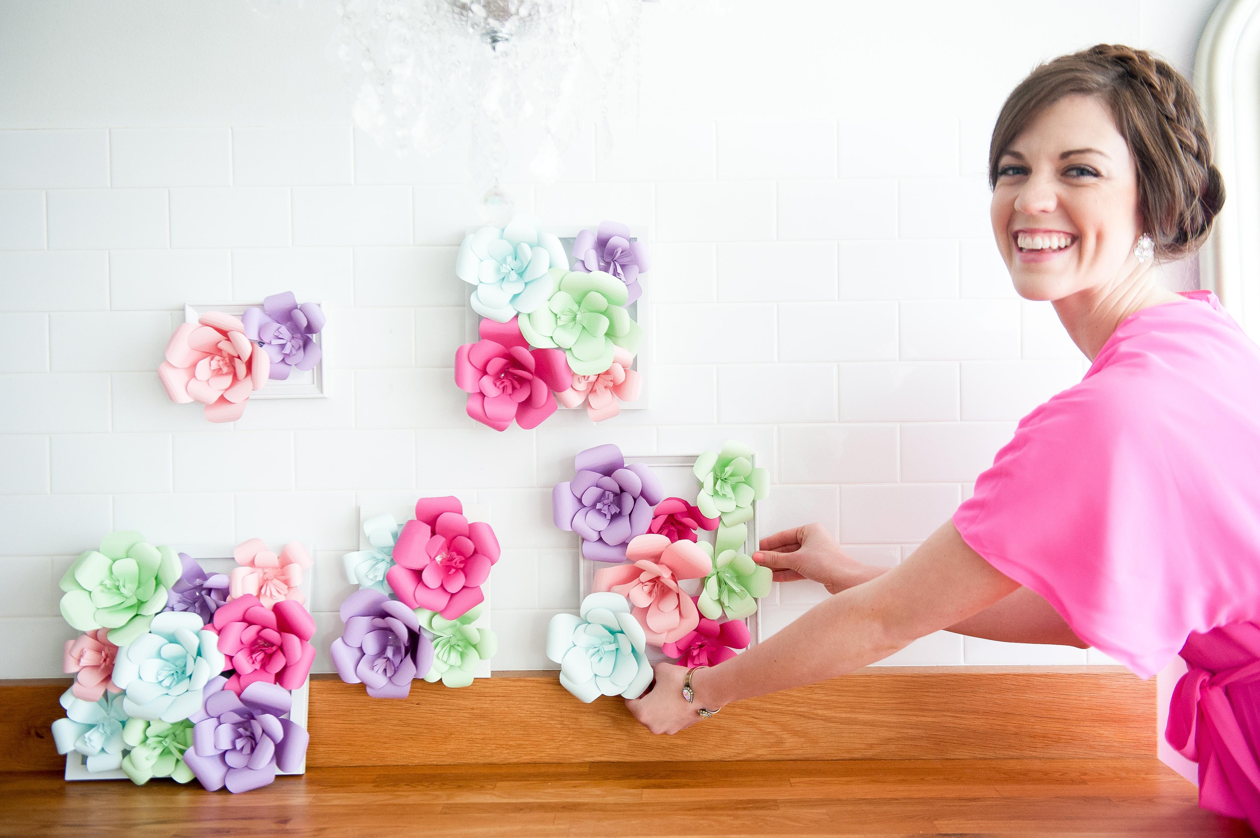 Diy Flower Gallery Wall Blog Appetit